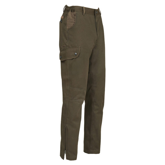 Percussion Normandie Trousers Brown Waterproof Country Hunting Shooting